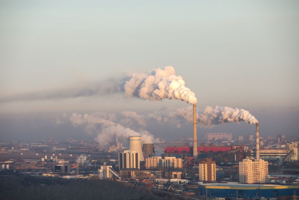 pollution in city